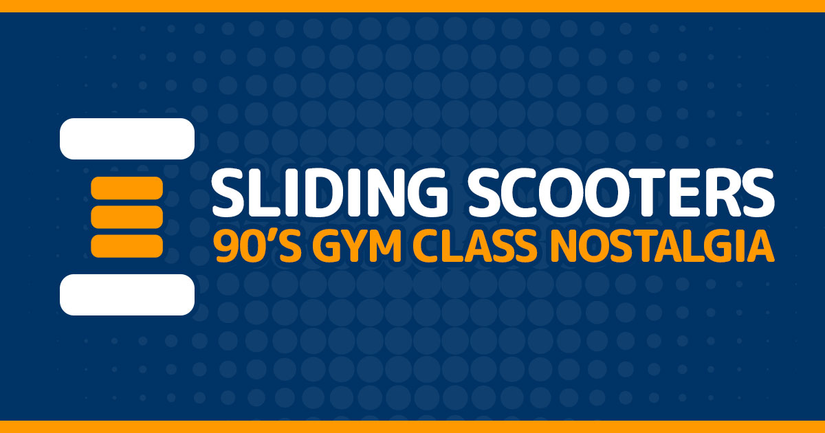 90s Gym Class Scooters: Fitness for Kids