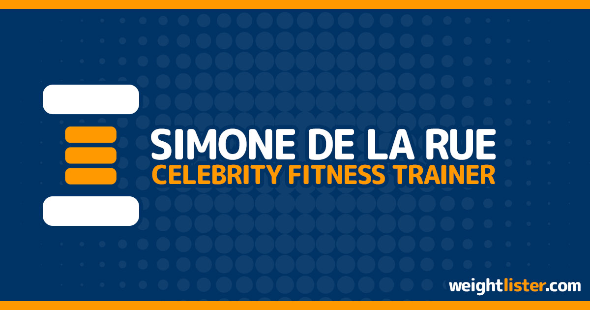 About Celebrity Fitness Trainer Simone De La Rue